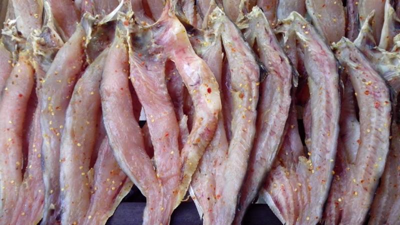 khô cá lóc – đặc sản miền tây